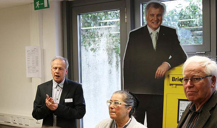 Führung durch die Archive der Hanns-Seidel-Stiftung
