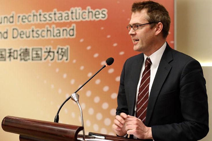 Marco Haase bei seinem Vortrag