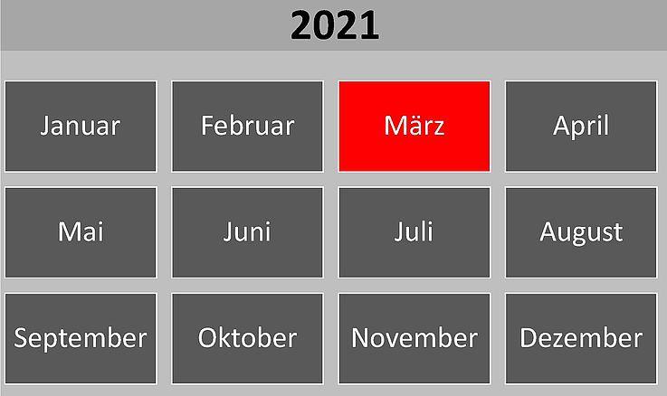 Historische Ereignisse im März 2021