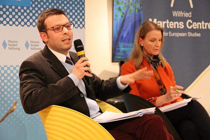 Federico Ottavio Reho, Research Officer beim Wilfried Martens Centre for European Studies