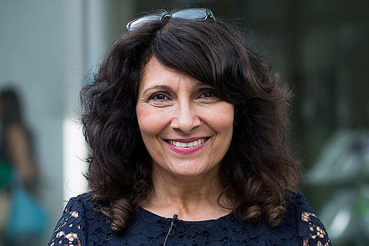 Rachida Nachit, deutsch-marrokanische Autorin, Journalistin und Sprachdozentin