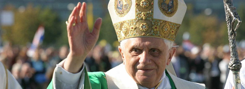 Papst Benedikt XVI. bei seinem Besuch in Bayern 2006