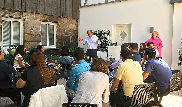 Workshop mit Christian Schmidt, MdB, Stv. Vorsitzender der HSS