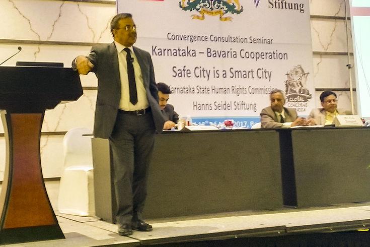 """Konvergenz erreichen wir nur durch Kompromiss"""": Sanjay Sahay, Menschenrechtsbeauftragter der Polizei Karnataka"""