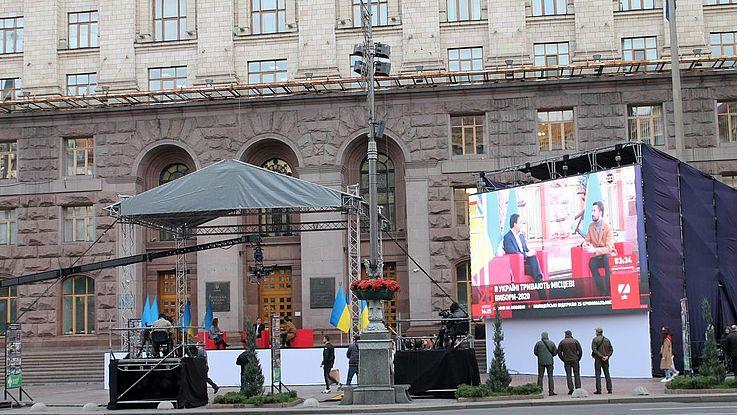 Am 25. Oktober wurden in der Ukraine die Kommunalwahlen unter den Bedingungen der Corona-Pandemie durchgeführt. Die Wahlbeteiligung lag bei nur 36,88 Prozent.