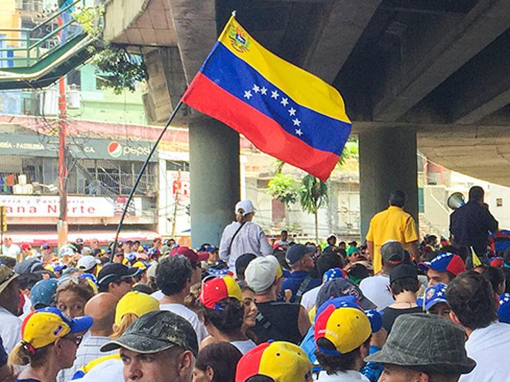 Immer heftiger werden die Protestaktionen in Venezuela