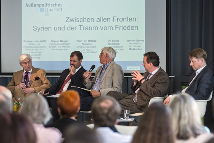 Michael Stürmer, Florian Hahn, Werner Sonne, Miguel Berger, Guido Steinberg