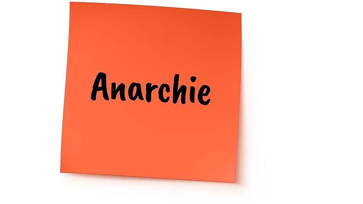 Definition Anarchie