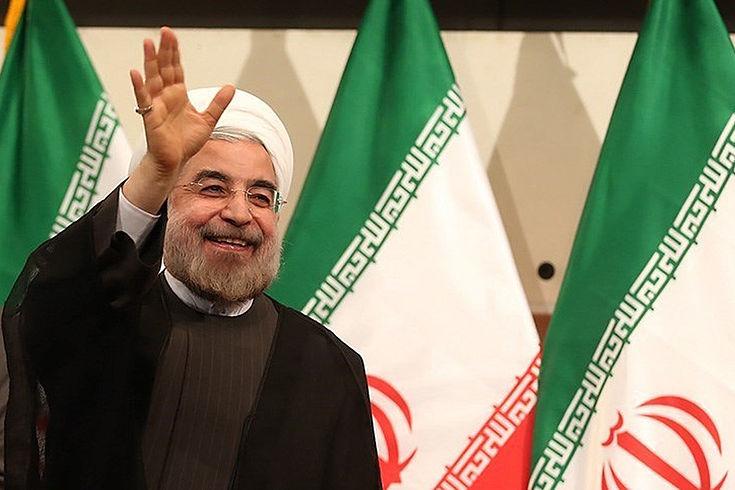 57,1 Prozent der iranischen Männer und Frauen stimmten für den Amtsinhaber Hassan Rohani.