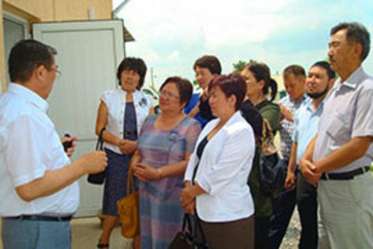 Von dem neuen Präsidenten erwarten die Kirgisen eine bessere wirtschaftliche Situation