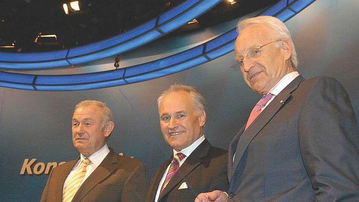 Wahl von Erwin Huber zum CSU-Parteivorsitzenden vor 10 Jahren