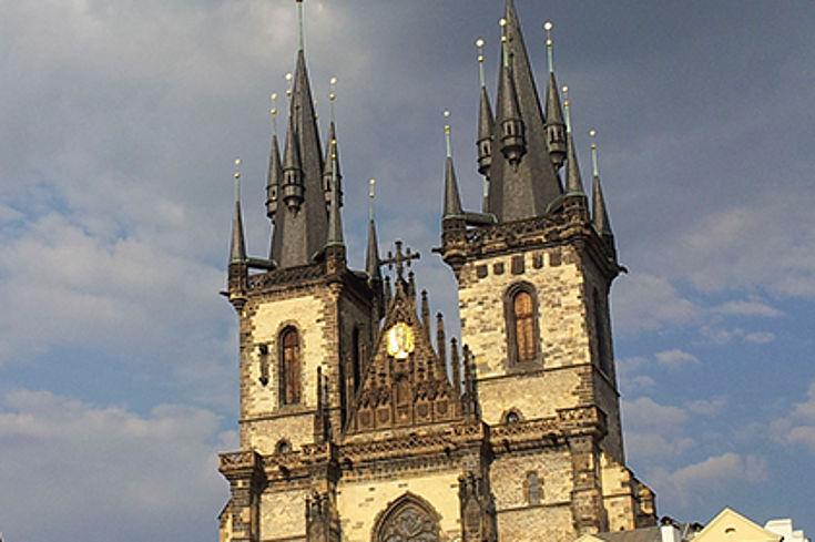 Auch Prag war ein Schauplatz der Entführung