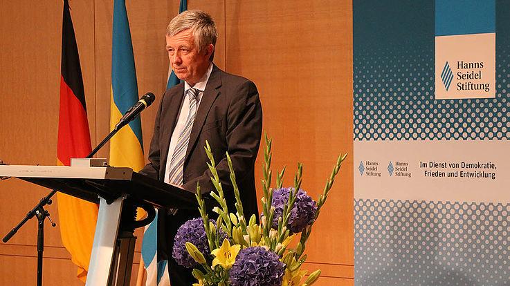 Der Generalkonsul der Ukraine in München, Yuriy Yarmilko