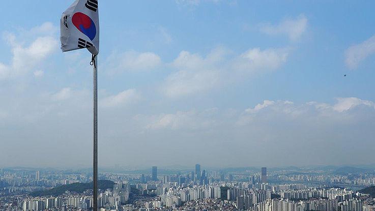 Stadtansicht von Seoul