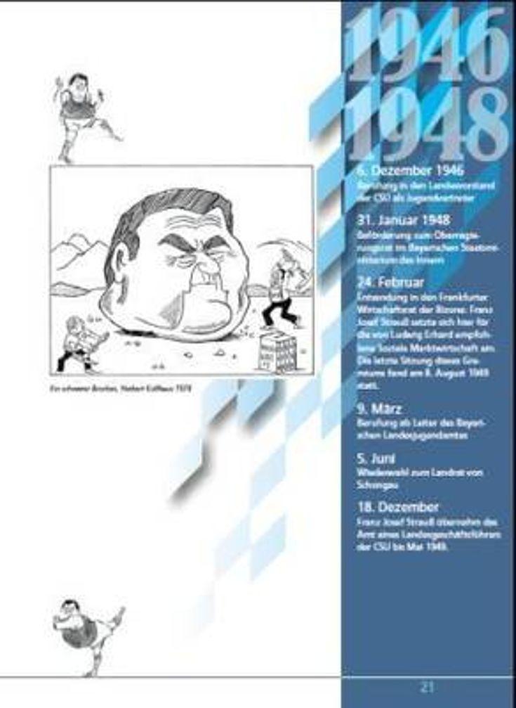 Ausschnitt aus dem Karikaturenband, Seite 28