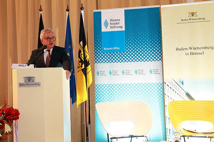 Guido Wolf möchte den Kampf gegen Jugendarbeitslosigkeit in EU-Fokus rücken.