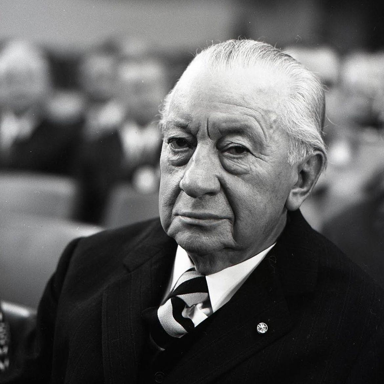 Josef Müller auf dem CSU-Parteitag 1973