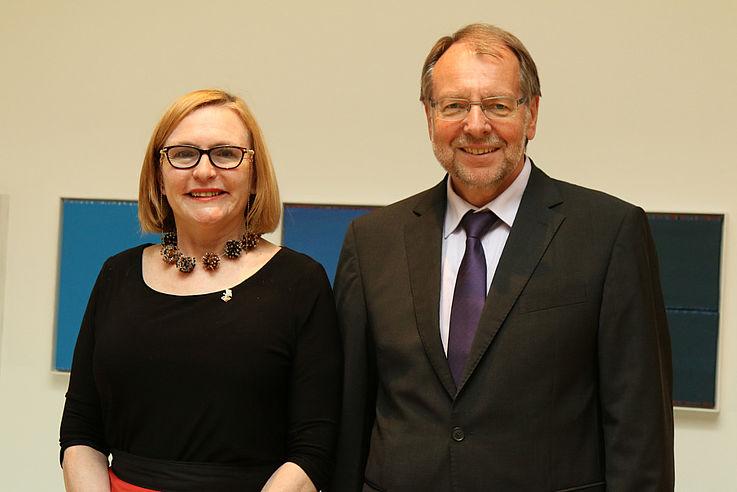 Helen Zille und Peter Witterauf