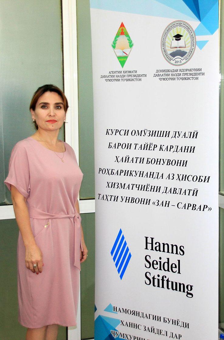 Zulfia Erkaeva absolvierte erfolgreich ihre Ausbildung.