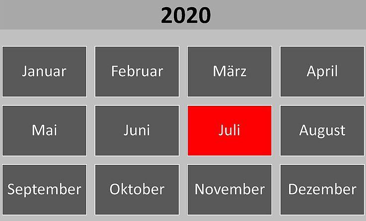 Historische Ereignisse im Juli 2020