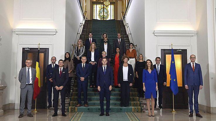 Belgien hat eine neue Regierung