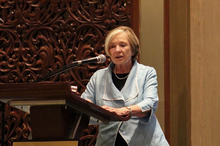 Langfristiges Engagement ist für Prof. Ursula Männle Voraussetzung für nachhaltigen Erfolg in der Entwicklungszusammenarbeit.