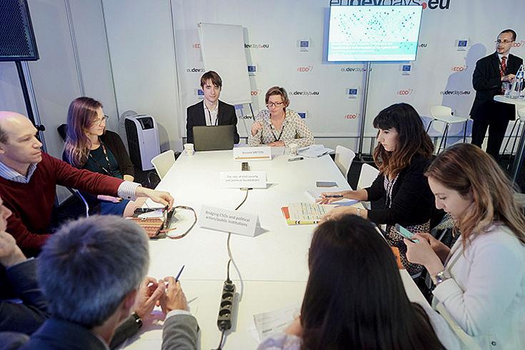 Workshop des Europäischen Netzwerks der Politischen Stiftungen (ENoP) über die Implementierung der Nachhaltigkeitsziele