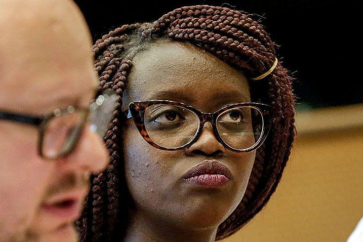 Irene Wairimu Mwangi, Jugendsenatorin aus Kenia, setzt sich für die Jugend ein