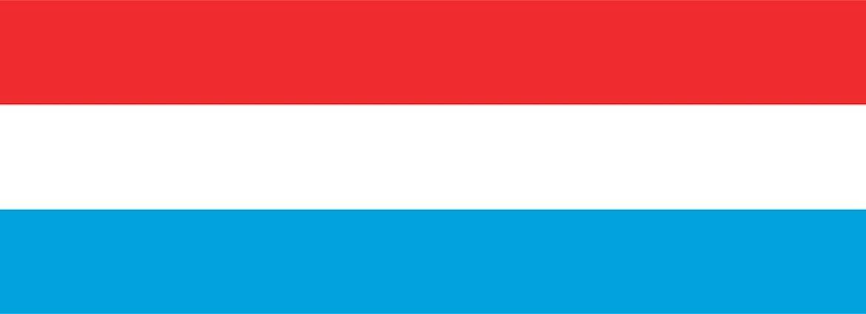 Flagge Luxemburgs
