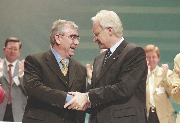 16. Januar 1999 - Edmund Stoiber wird Parteivorsitzender