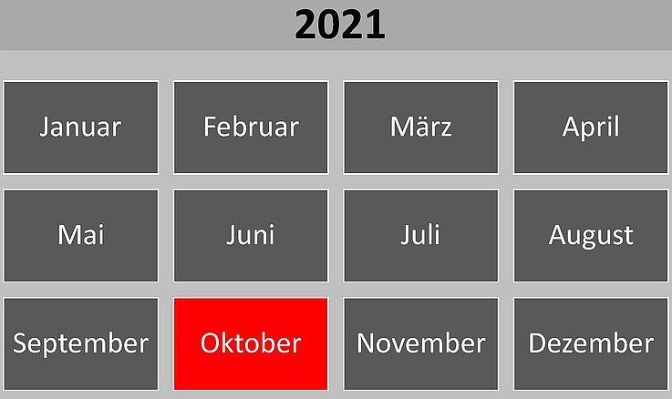Historische Ereignisse im Oktober 2021