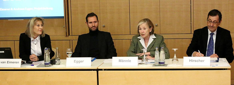 Birgit van Eimeren, Andreas Egger, Ursula Männle, Gerhard Hirscher