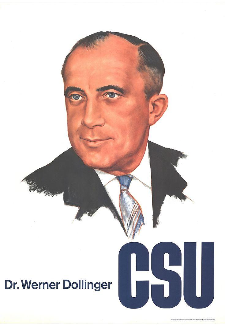 Plakat zur Bundestagswahl 1961