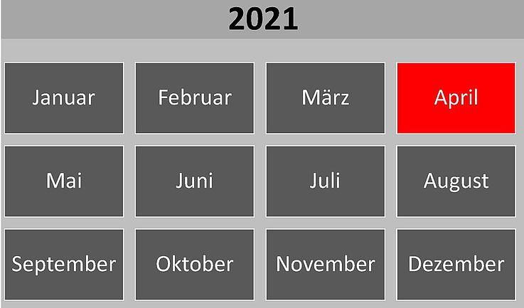 Historische Ereignisse im April 2021