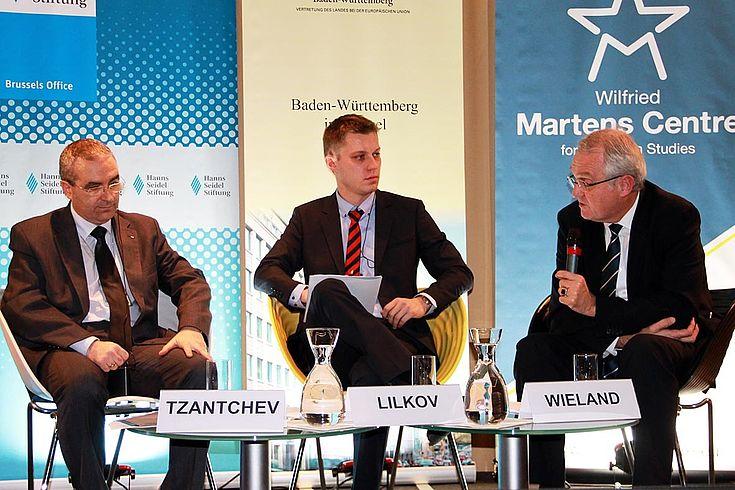 """Rainer Wieland: """"Die EU muss im Moment vielmehr an ihrer Qualität arbeiten und interne Fortschritte erreichen, bevor wir über eine erneute Erweiterung nachdenken können."""""""