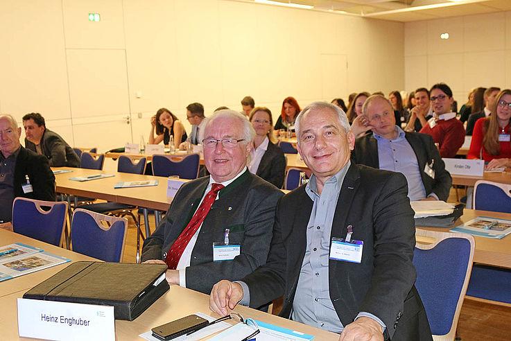 Regionalbeauftragter Heinz Enghuber und ehemaliger Pressesprecher der EVP-Fraktion im EU-Parlament Michael Möhnle
