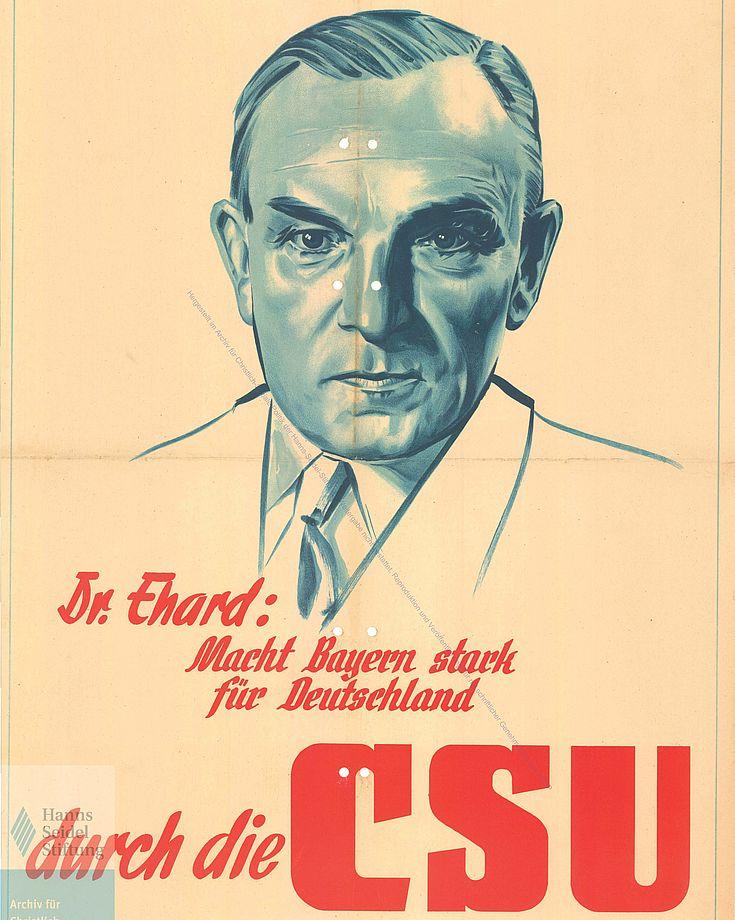 Plakat für die Bundestagswahl 1949