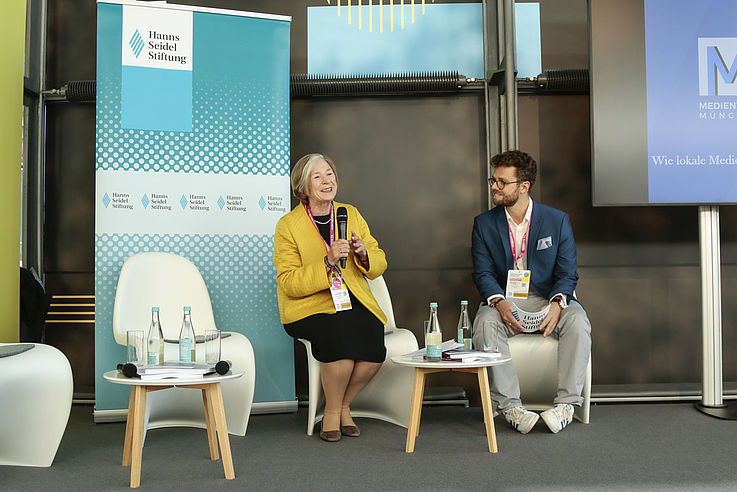"""HSS-Vorsitzende Prof. Ursula Männle will im """"Storm of change"""" des technologischen Wandels ...."""