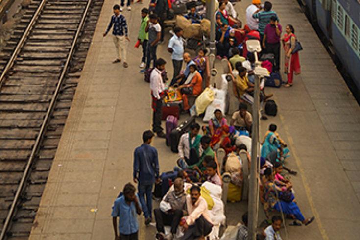 In Indien leben etwa 160 Millionen Dalits, Angehörige der kastenlosen Gruppe