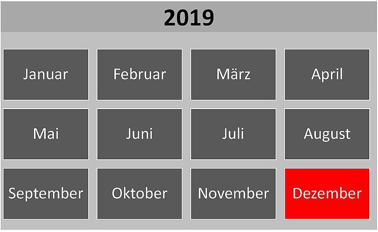 Historische Ereignisse im Dezember 2019