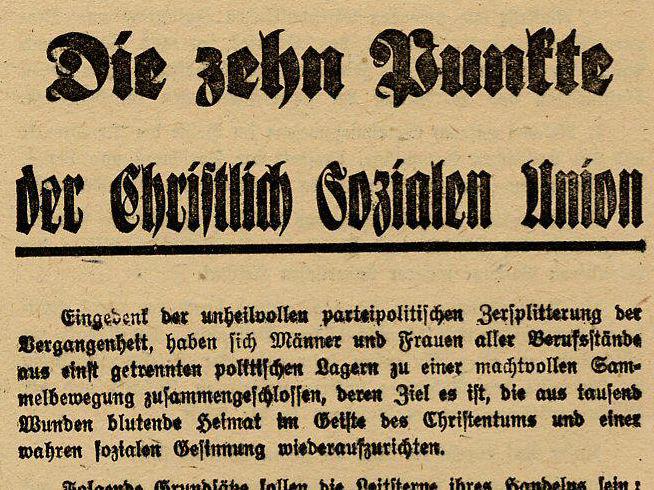 Zehn-Punkte-Erklärung 1945