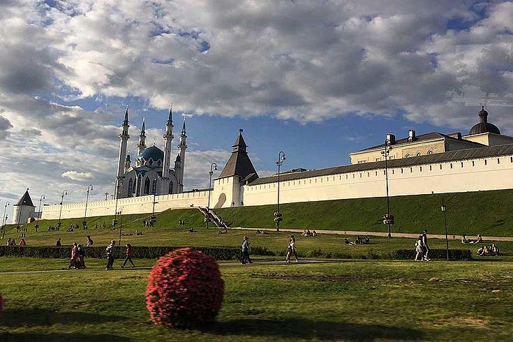 Weitgehend friedlich leben Christen und Muslime in der Republik Tatarstan zusammen
