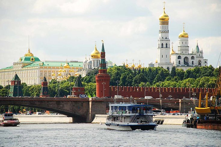 Trübes Wetter, grimmige Gesichter? In Moskau spürt man die Vorfreude auf den Frühling.