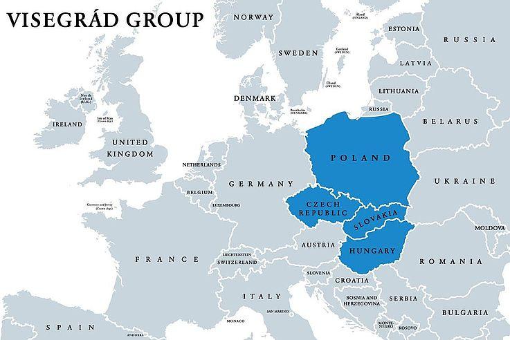 Seit 30 Jahren besteht das Visegrád-Bündnis. Das ist ein Anlass, den Werdegang und die Bedeutung der Allianz zu würdigen. So trafen sich zum Jubiläum der Präsident der Republik Polen, Andrzej Duda, der Präsident der Tschechischen Republik, Milos Zeman, die Präsidentin der Slowakei, Zuzana Caputová, und der Präsident der Republik Ungarn, János Àder.
