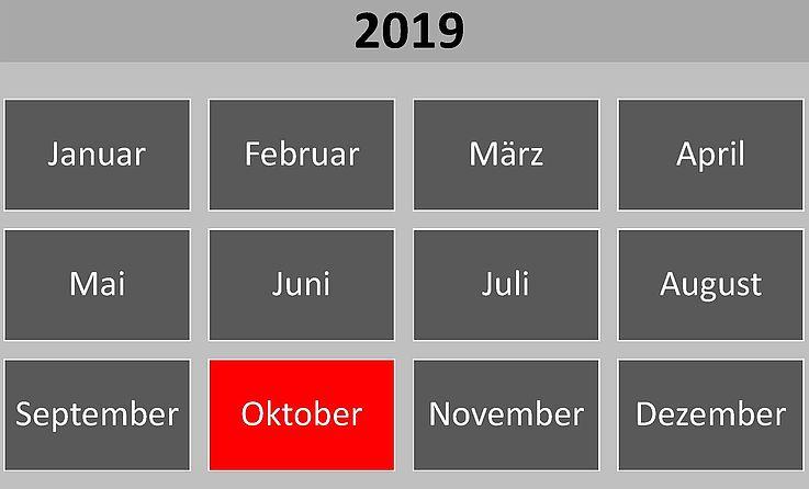 Historische Ereignisse im Oktober 2019