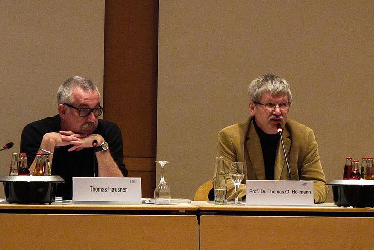 Die beiden Protagonisten des Konfuzius-Seminars Hausner und Höllmann