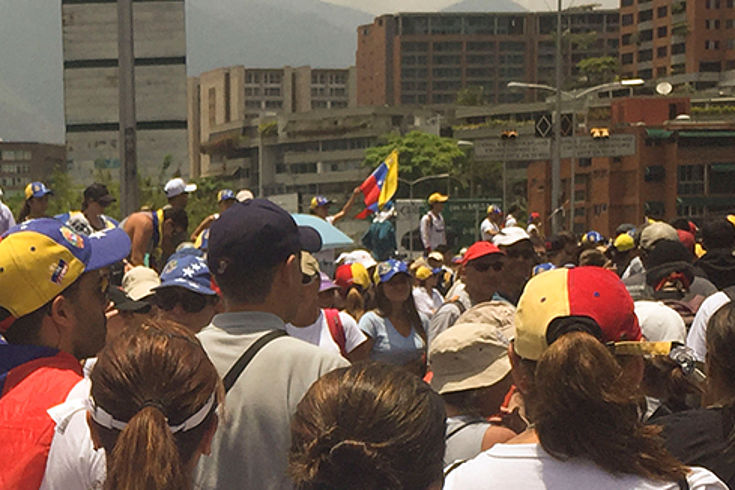 Protest gegen das Versagen der Regierung