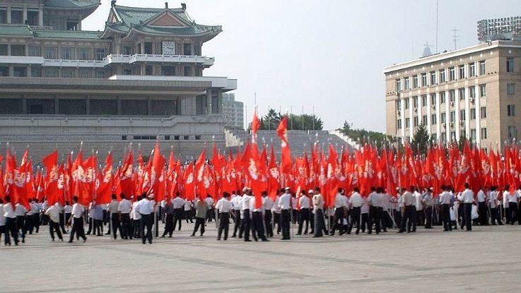 Kim Il Sung Square - Nordkorea