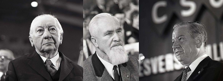 Unter anderem befinden sich die Nachlässe von Josef Müller, Alois Hundhammer und Alfons Goppel im Archiv