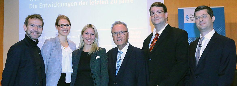 Joachim Frank, Kea-Sophie Stieber, Silke Launert, Hans-Jürgen Papier, Hans O. Seitschek,Vural Ünlü